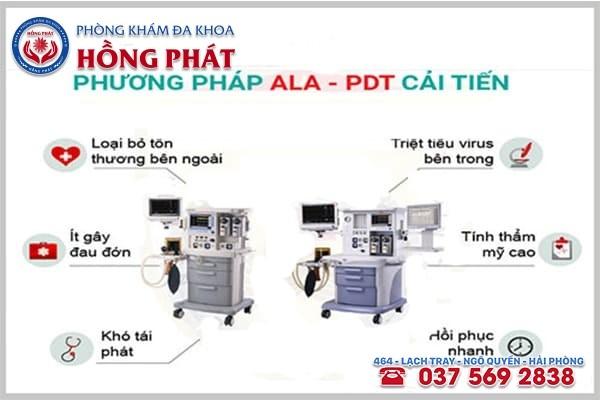 Bệnh sùi mào gà được hỗ trợ điều trị hiệu quả bằng phương pháp ALA - PDT