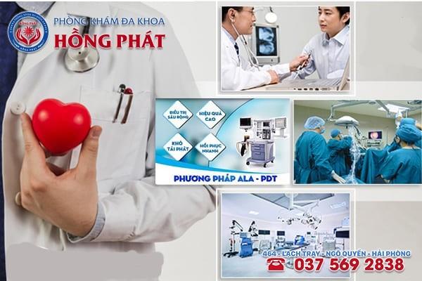 Phòng Khám Hồng Phát - Địa chỉ thăm khám và hỗ trợ điều trị bệnh sùi mào gà tốt nhất