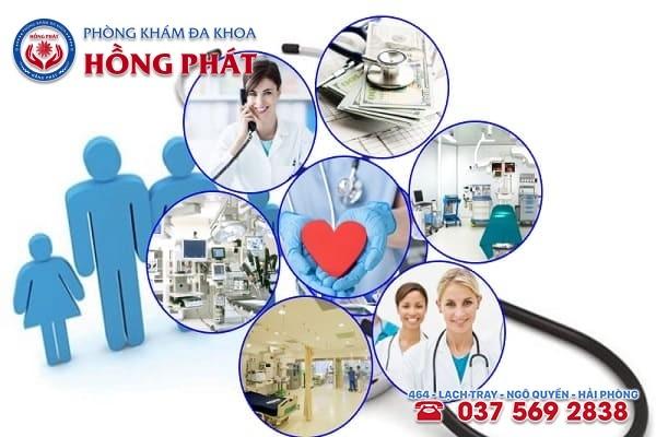 Phòng khám Đa khoa Hồng Phát là địa chỉ khám trị bệnh rối loạn kinh nguyệt uy tín