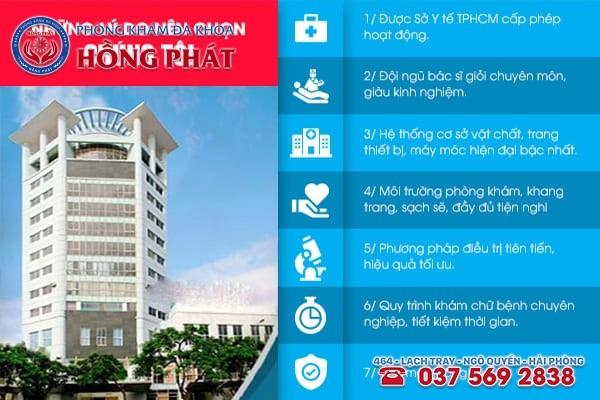 Phòng Khám Hồng Phát - Địa chỉ điều trị ngứa vùng kín hiệu quả, an toàn tại Hải Phòng