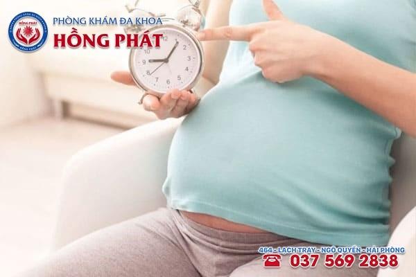 Từ tuần 37 trở đi mẹ bầu sẽ xuất hiện các dấu hiệu sắp sinh