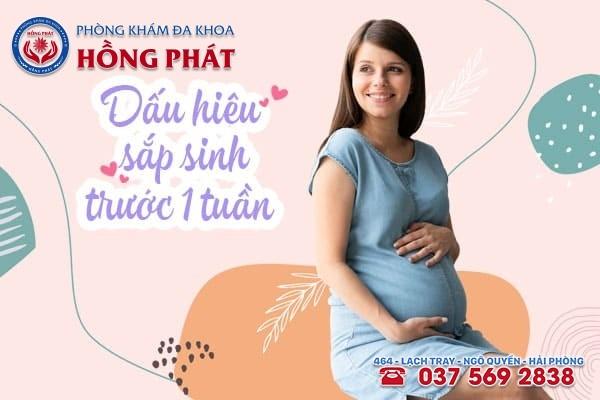 Bụng tụt xuống, cổ tử cung mở rộng, chuột rút, vỡ ối... là dấu hiệu sắp sinh trước 1 tuần