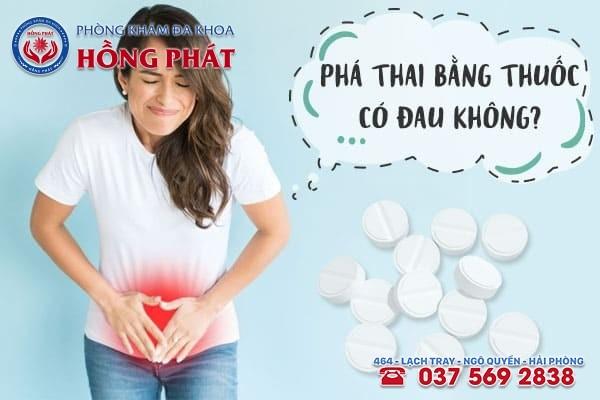 [Bác sĩ tư vấn] Phá thai bằng thuốc có đau bụng không?