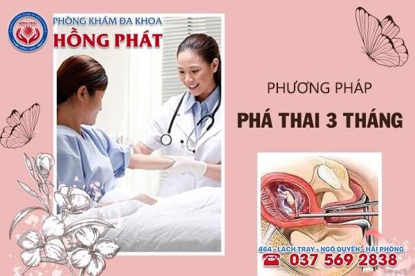 Phá thai 3 tháng bằng phương pháp hút thai chân không