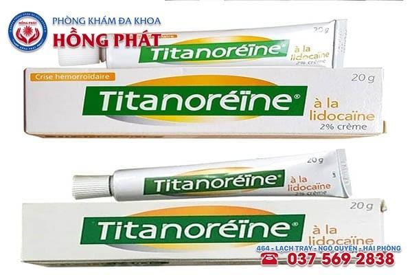 Thuốc bôi trĩ titanoreine mang đến nhiều công dụng hữu hiệu