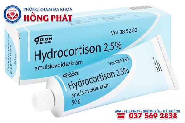 Tìm hiểu về thuốc bôi viêm bao quy đầu Hydrocortisone là gì?