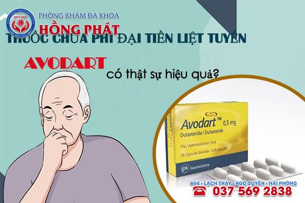 Thuốc chữa phì đại tiền liệt tuyến avodart có thật sự hiệu quả?