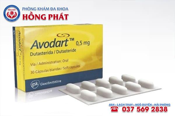 Hình ảnh về thuốc chữa phì đại tiền liệt tuyến avodart
