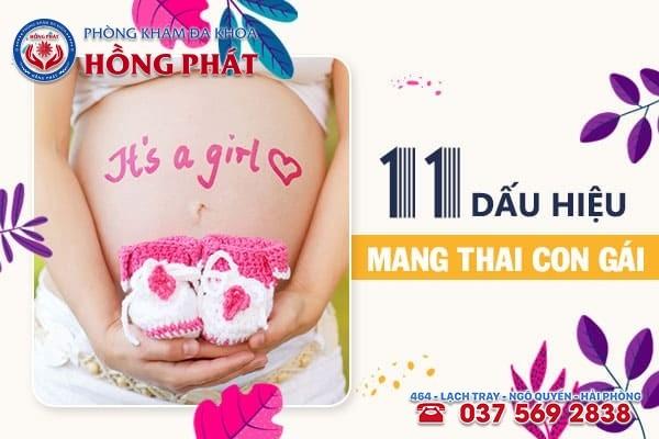 11 dấu hiệu mang thai con gái chuẩn nhất, mẹ đừng bỏ qua