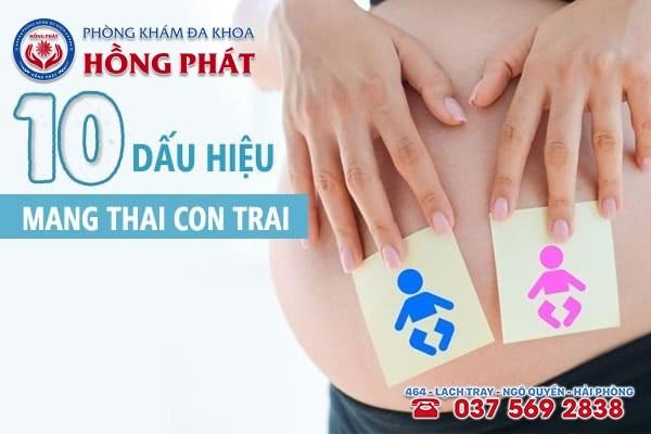 10 dấu hiệu mang thai con trai chuẩn xác nhất