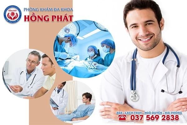 Phòng khám Hồng Phát là địa chỉ điều trị chuỗi hạt ngọc dương vật hiệu quả