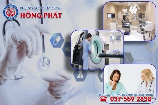 Phòng khám Hồng Phát là địa chỉ điều trị tình trạng nổi hạch ở bẹn, háng chất lượng