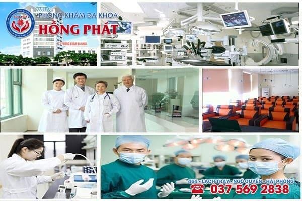 Đa Khoa Hồng Phát - Địa chỉ điều trị bệnh viêm buồng trứng hiệu quả