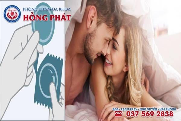 Quan hệ tình dục an toàn là cách phòng bệnh giang mai hiệu quả