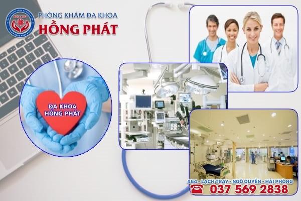 Phòng khám Hồng Phát là địa chỉ chữa trị bệnh u xơ tử cung chất lượng và an toàn