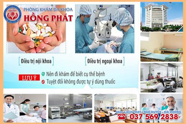 Phòng Khám Hồng Phát địa chỉ khám chữa bệnh viêm bao quy đầu lâu năm tốt nhất tại Hải Phòng