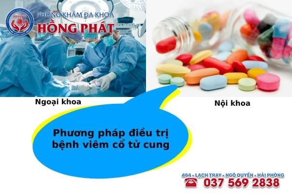 Phụ thuộc mức độ viêm nhiễm mà chuyên gia áp dụng liệu pháp điều trị phù hợp
