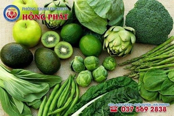 Ăn nhiều rau xanh cũng tốt cho nam giớibị viêm đường tiết niệu
