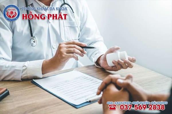 Uống thuốc trị bệnh viêm đường tiết niệu cần tuân thủ đúng chỉ định của bác sĩ