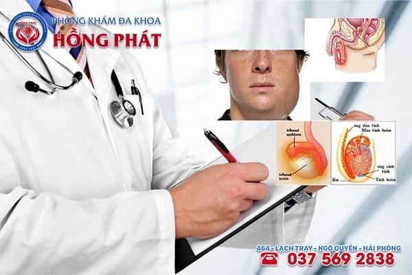Phòng Khám Hồng Phát - Đơn vị khám chữa viêm tinh hoàn tốt nhất tại Hải Phòng