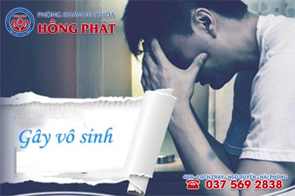 Vùng quy đầu tiết dịch có mùi hôi sẽ gây vô sinh cho nam giới nếu không điều trị sớm
