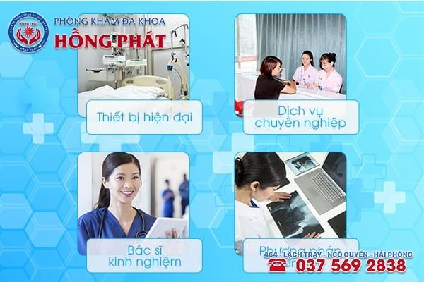 Phòng Khám Hồng Phát - Đơn vị xét nghiệm bệnh xã hội chất lượng, chính xác, tiết kiệm